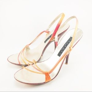 97ad062ab23 Laundry By Shelli Segal Shoes - MultiColored Strappy High Heels Sandals